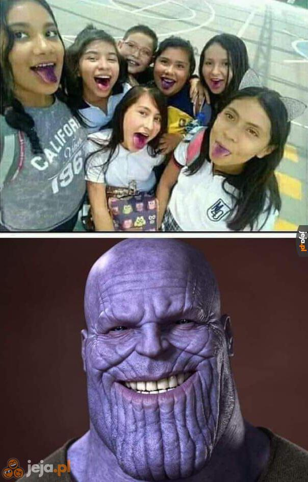 Po spotkaniu z Thanosem