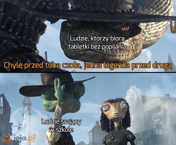 Szacuneczek dla nich