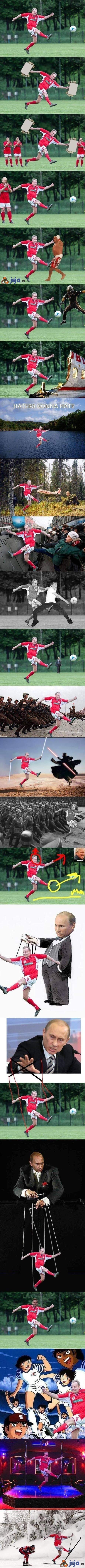 Tusk i jego przygody w Photoshopie