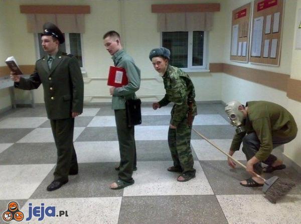 Ewolucja rosyjskiego żołnierza