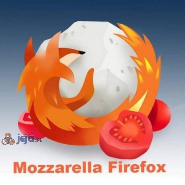 Mozzarella Firefox