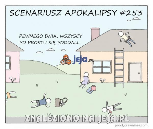 Możliwy scenariusz apokalipsy