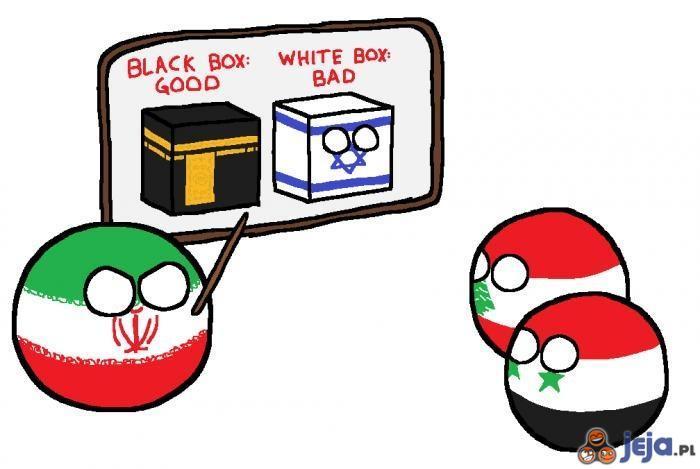 Iran uczy