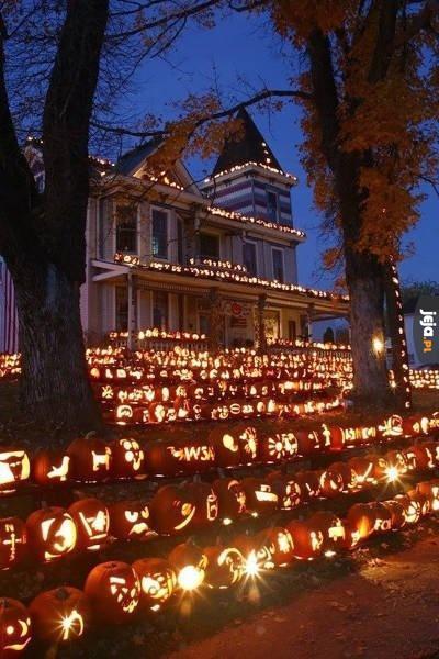 Halloween na bogato