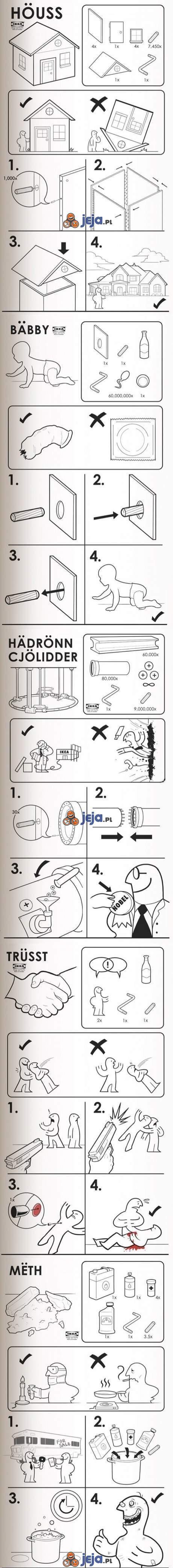 Instrukcje z Ikei
