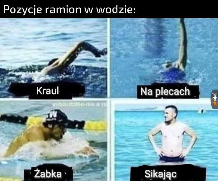 A ty jak pływasz?
