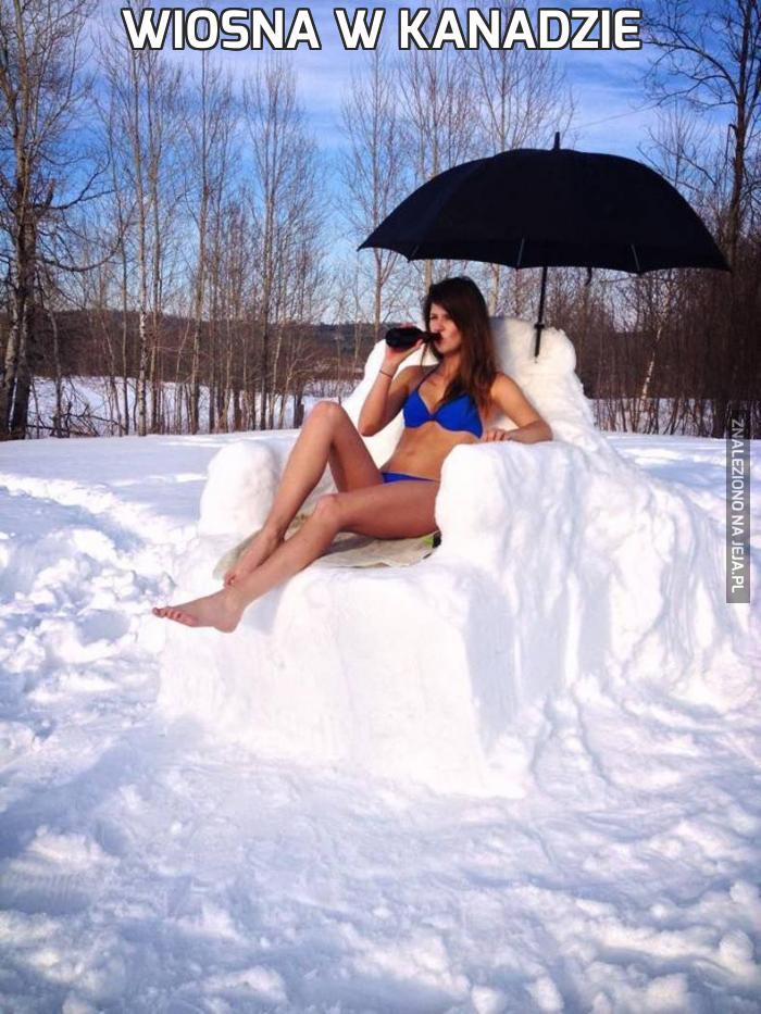 Wiosna w Kanadzie