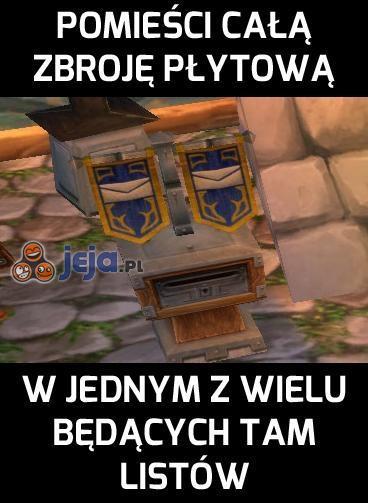 Ach, te skrzynki pocztowe w MMORPG...