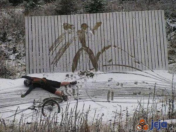 Akrobacja rowerowa inaczej