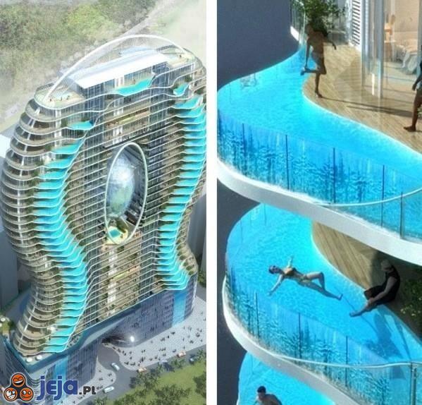 Zwembalkons Hotel w Mumbaju