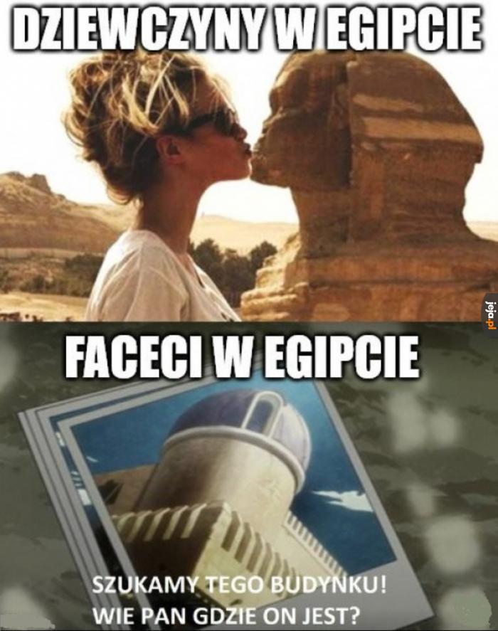 Egipskie porównanie