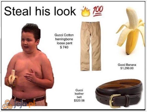 Ukradnij jego stylówkę!