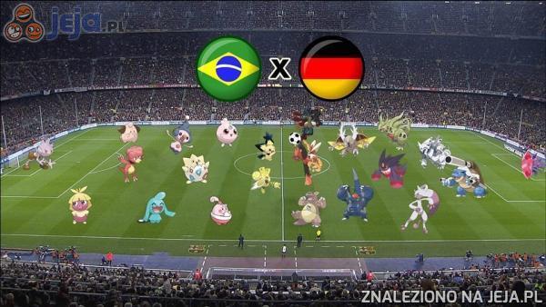 Brazylia vs Niemcy
