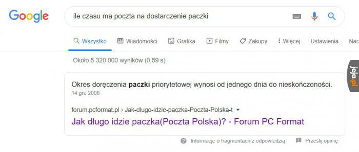 Google jak zawsze pomocne