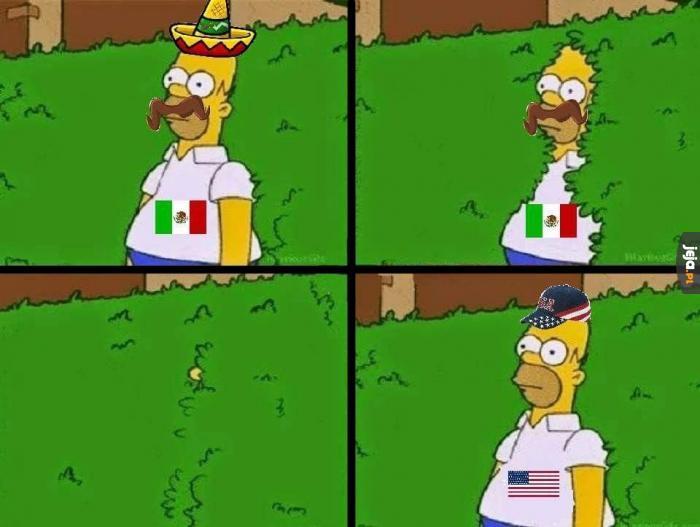 Tymczasem Meksykanie w USA