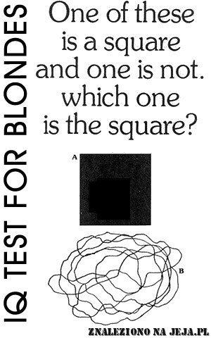 Test IQ - Kwadrat