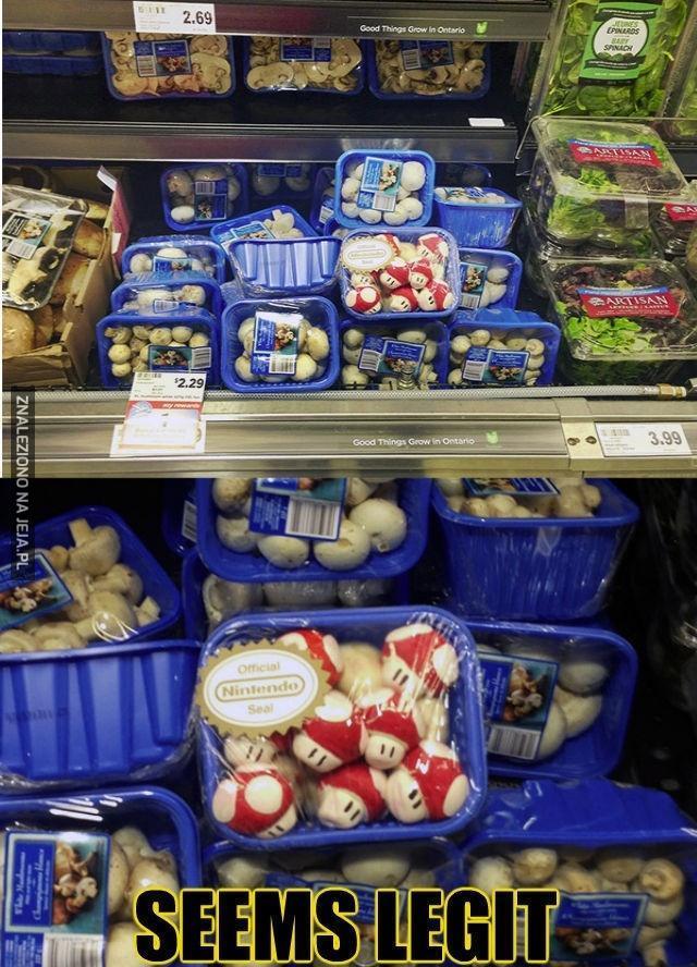 Tymczasem w supermarkecie