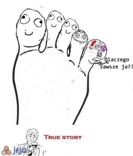 Mały palec u nogi