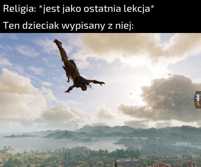 To ja lecę!