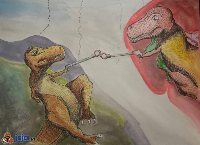 Stworzenie Tyranozaura