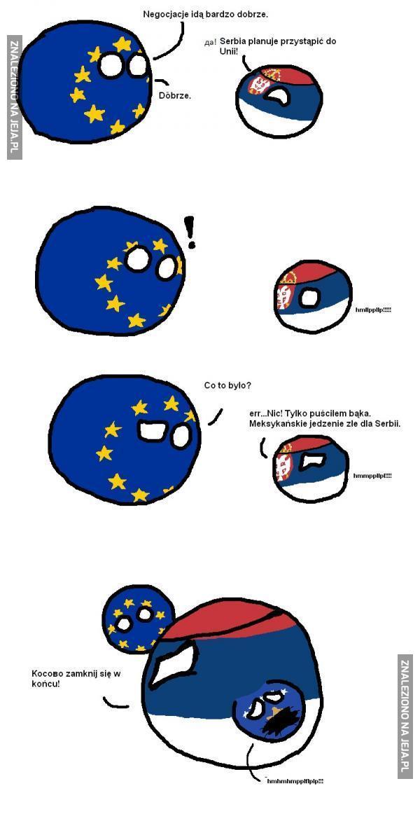 Serbia chce do Unii