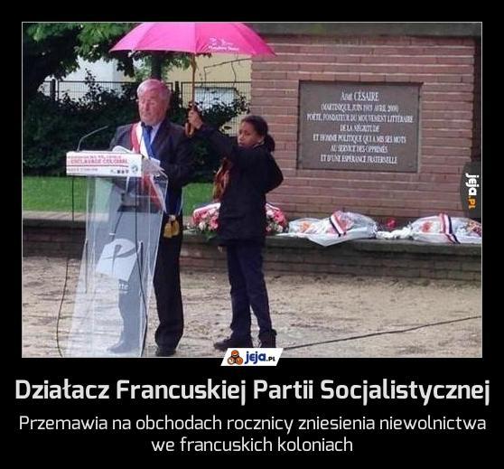 Działacz Francuskiej Partii Socjalistycznej