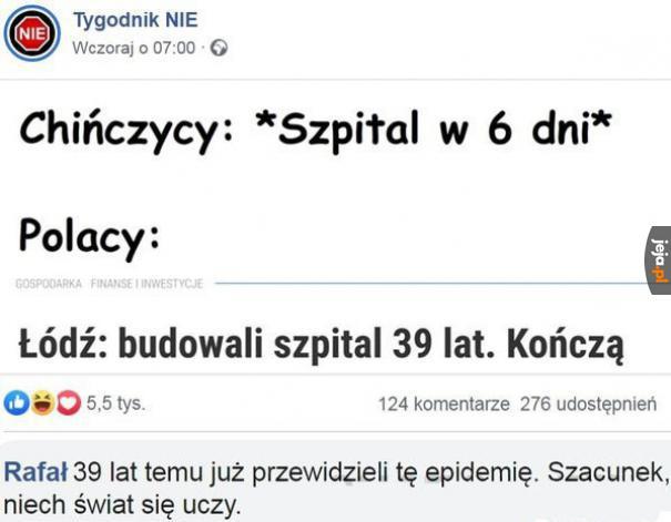 Szacunek dla Łodzi