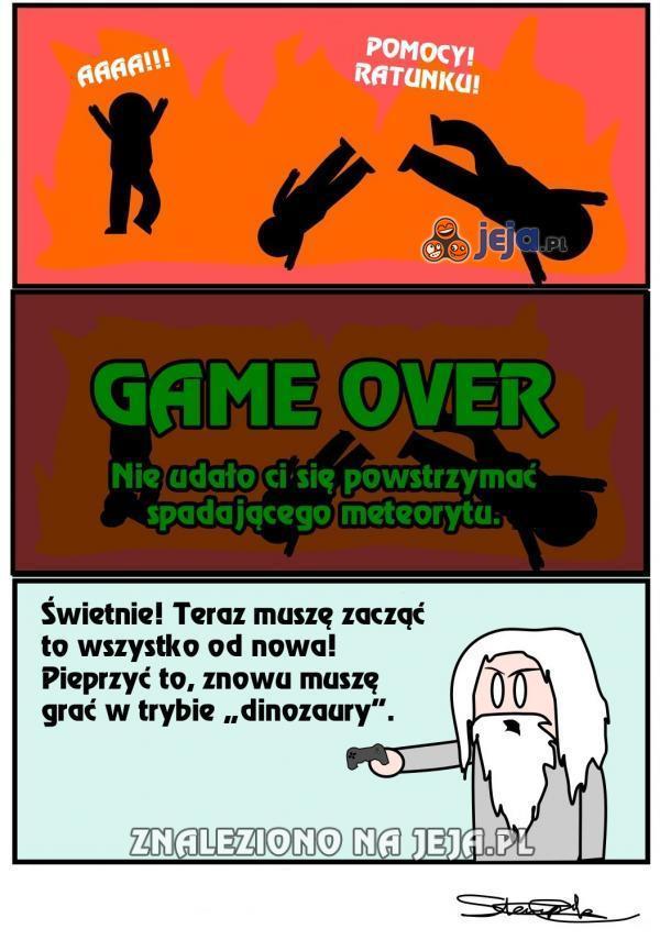 Gra w świat, znowu game over...