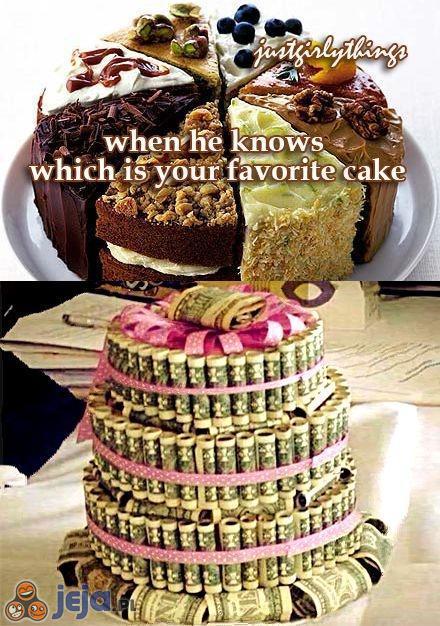 Bogato zdobiony tort
