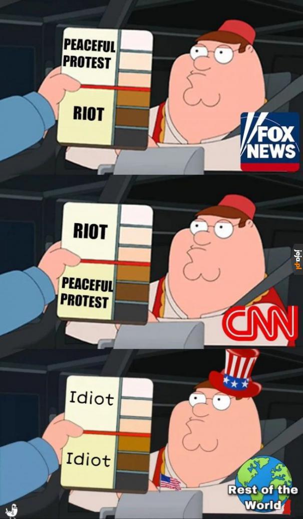 Świat reaguje na wydarzenia w Stanach