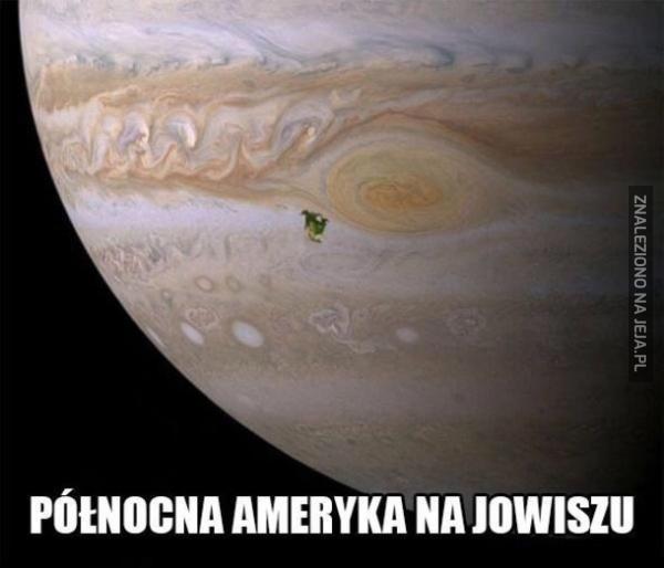 Jak wielki jest Jowisz