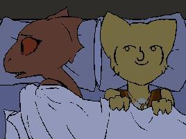 Za każdym razem, gdy obok kogoś śpię