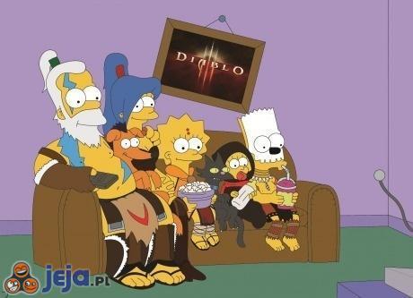Diablo w Simpsonach