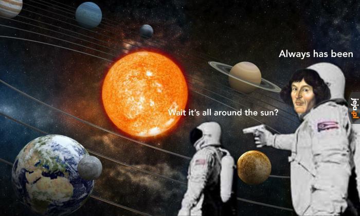 Dzięki, Kopernik