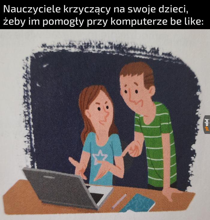 Autentyk z ćwiczeń do polskiego