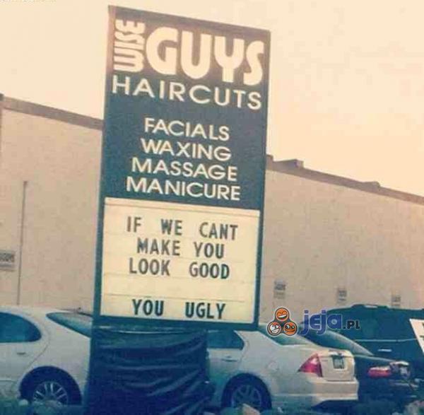 Jeśli nie będziesz wyglądał dobrze, znaczy że jesteś paskudny