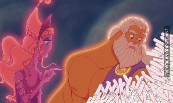 I co żeś narobił, Zeus?