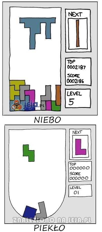 Tetrisowe niebo i piekło