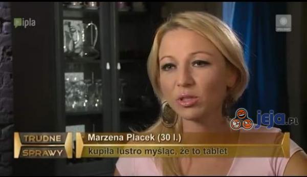 Kupiła lustro myśląc, że to tablet