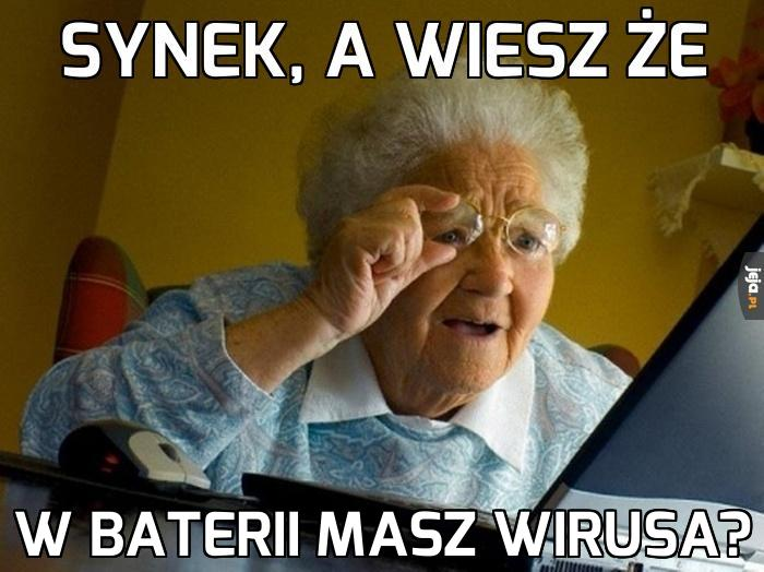 Babcia w internecie