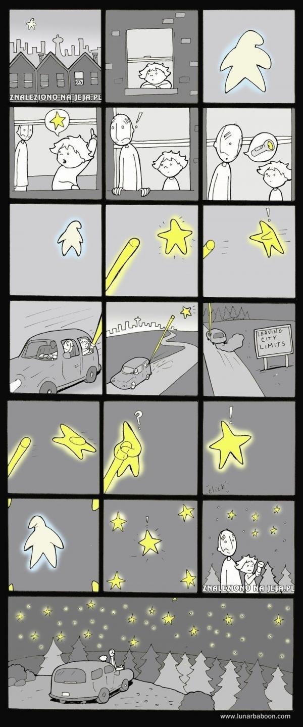 Samotna gwiazdka