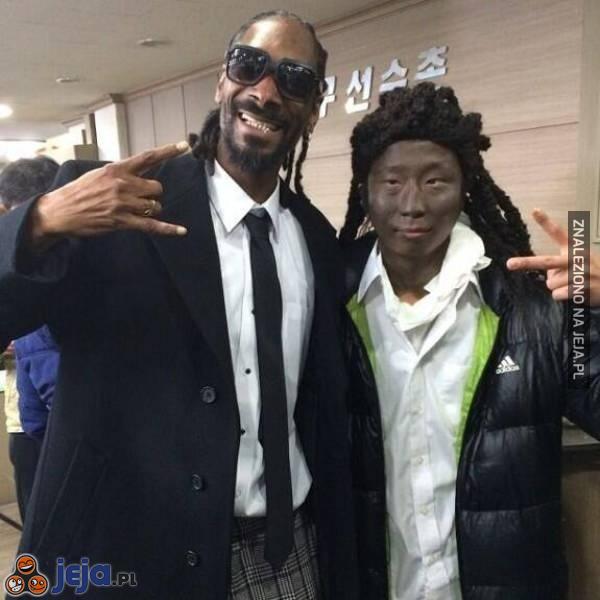 Snoop Dogg ze swoim wiernym fanem