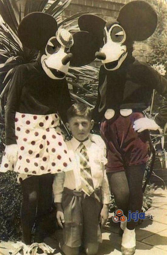 Disneyland w dawnych czasach