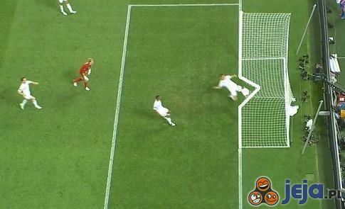 Mecz Ukraina - Anglia. Gola nie było!
