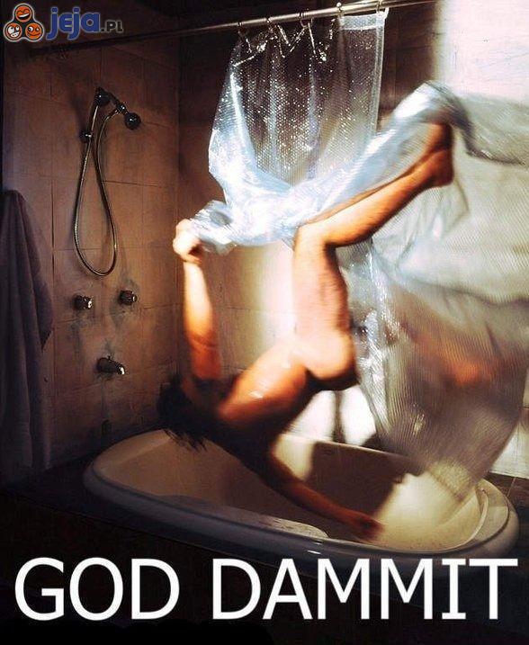 Taniec pod prysznicem