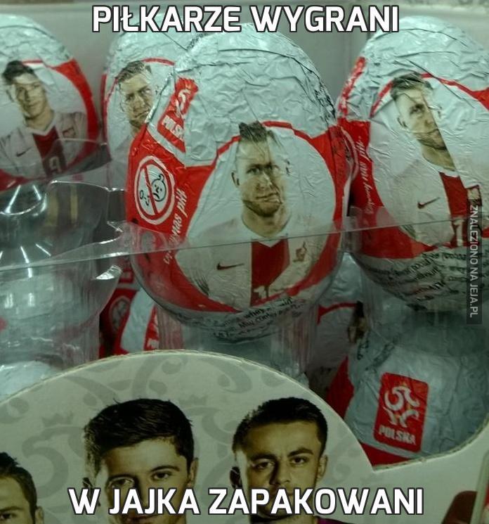 Piłkarze wygrani