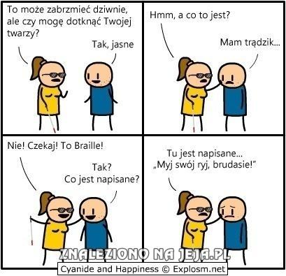 Cyanide & Happiness - Braille