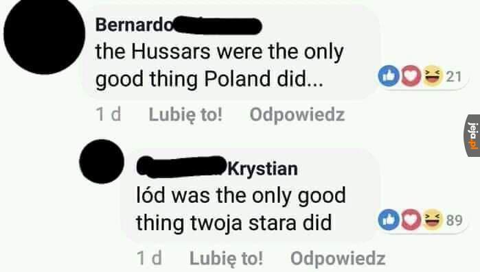 Polska riposta