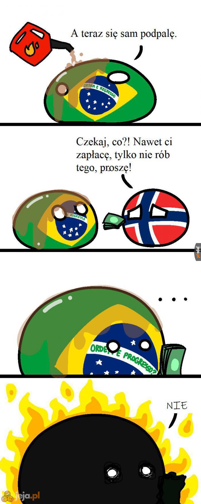 Płonąca Brazylia