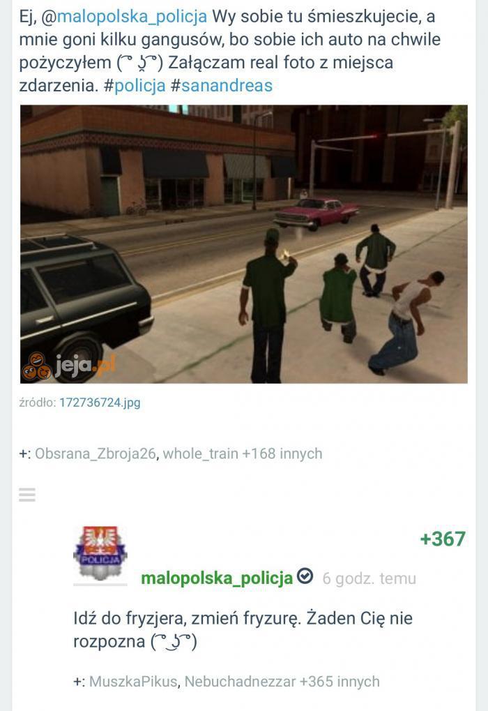 Policja zawsze pomoże
